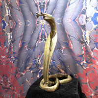 Vintage  Art  King  Cobra  Statue