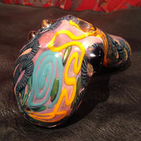 Swirl Glass Hand Pipe