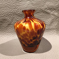 Vintage Art Glass Jar