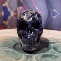 Sodalite Crystal  Skull