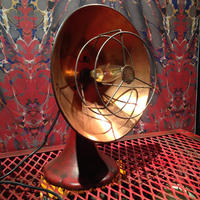 Vintage  Copper  Heat  Lamp/Desk Lamp