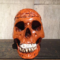 1:1  Real  Resin  Carving  Human  Skull