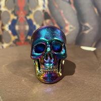Titanium Stone Aura Skull