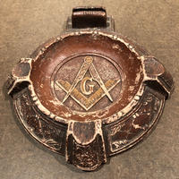 Vintage  MASONIC  Ashtray