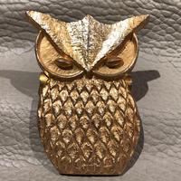Vintage Brass Owl  Clip