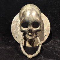 Skull  Door  Knocker  【Large  size】   from  SPAIN