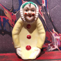 Vintage Pierrot Clown Ceramic Tray