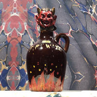 Vintage Devil Head Decanter