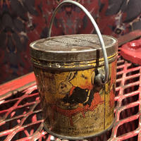 Antique  Lovell & Covell  Rabbit Tin Pail