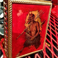 Vintage Devil Jewelry Box