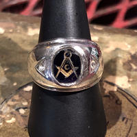 Vintage  Masonic  Ring