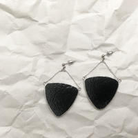 【doro】BARANCE PIERCE & EARRINGS | BLACK