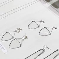 【doro】BARANCE PIERCE & EARRINGS | CLEAR