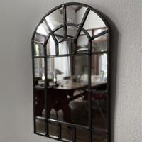 ステンドグラスウォールミラー(壁掛けの鏡)