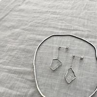 KAKERA HANGING PIERCE /EARRING【S】|イヤリングピアス ●金具選べます