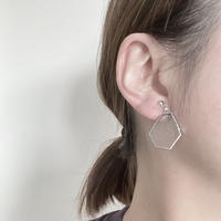 【doro】片耳 KAKERA EARRINGS | bubble-glass 金具交換可能