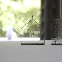 【名入れ彫刻】Church Candle Holder 横型