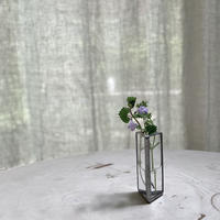 【ドロ製作室】草花を生ける小さなフラワーベース