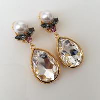 Crystal Swarovski jewelry earring