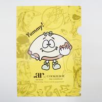 オリジナルキャラクター レモンケーキちゃんクリアファイル