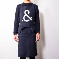 Saturday . AND READY Original Apron(NAVY)
