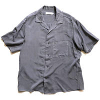 Graphpaper  Soft Cupro Open Collar Shirt