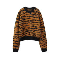 "JOHN LAWRENCE SULLIVAN ""TIGER JACQUARD KNIT SWEATER"""