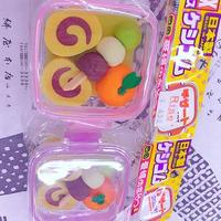 日本製愛媛のおみやげ消しゴムセット
