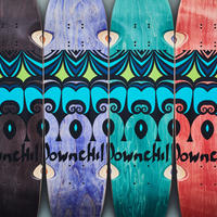 "DOWNCHILL deck ""AINU"""