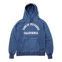 JOINT CREATION/DOC - P/O HEMP COTTON PARKA CALIFORNIA LOGO INDIGO DYE