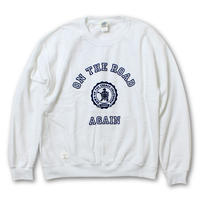 "L/S CREW NECK SWEAT ""ON THE ROAD AGAIN"" LIMITED EDITION"