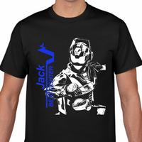 ビートファイターJackイラスト風Tシャツ