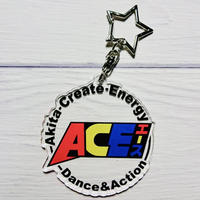 ACEラボ ロゴ丸アクリルキーホルダー