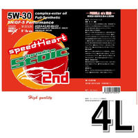 4L/スピードハート フォーミュラストイック セカンド 5w-30