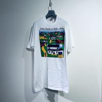 [XL]Fruits of the room Print Tee 90s_used good condition