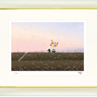 【ジークレー版画/四つ切サイズ】「やさしい薫り」
