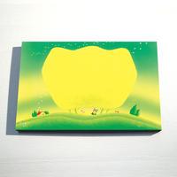 【デジタル版画/B3キャンバス】「お花のメロディー」