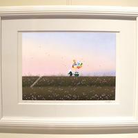 【ジークレー版画】「薫る風」