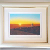 【ジークレー版画/四つ切サイズ】「希望の風」