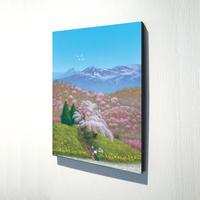 【デジタル版画/B3キャンバス】「福島から春爛漫の贈りもの」