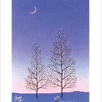「星の木」ポストカード