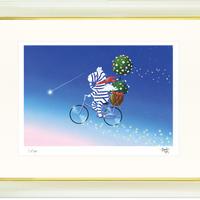 【ジークレー版画/四つ切サイズ】「花星」