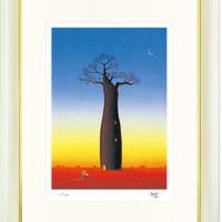 【ジークレー版画/大全紙サイズ】「命の木(ライフツリー)」
