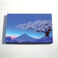 【デジタル版画/B4キャンバス】「花あかり」