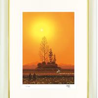 【ジークレー版画/四つ切サイズ】「野の花」