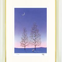 【ジークレー版画/インチサイズ】「星の木」