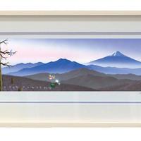 【ジークレー版画/小サイズ】「日本の四季の輝き 〜冬〜」