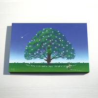 【デジタル版画/B3キャンバス】「夢見る樹」