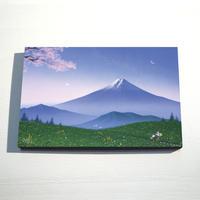 【デジタル版画/B4キャンバス】「志の旅路」