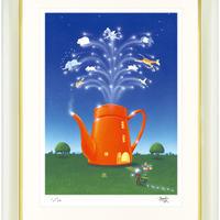 【ジークレー版画/四つ切サイズ】「ドリーム☆ハウス」